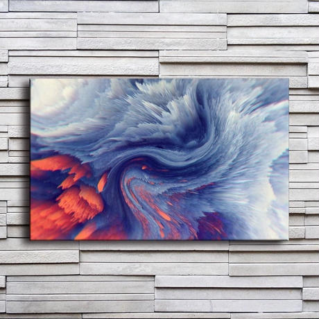 【お洒落な壁掛けアートパネル】 枠付き 40×60cm 芸術 オーシャンモチーフ 絵画 部屋 インテリア m06320