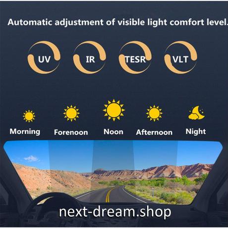 断熱フィルム 透明 サンカット 70×100cm 紫外線・UVカット IR TERS 可視光透過率: 75%-20% ガラスフィルム シート m03016