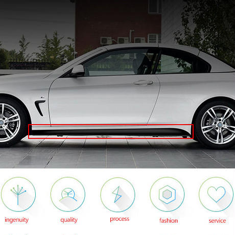 BMW ステッカー カースタイリング サイドスカート F32 F33 F34 420i 428i 435i Mパフォーマンス h00039