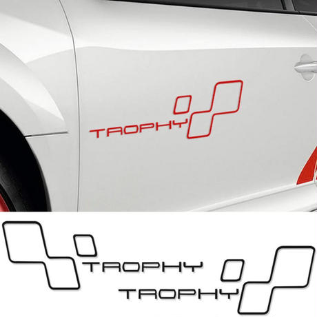 ルノー クリオ ステッカー ドアサイド レーシング デカール ルノースポーツ Clio R.S Twingo Megane h00184