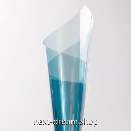 ウィンドウティントフィルム カメレオンブルー VLT 可視光透過率65% 50×200cm 車や家の窓ガラスに m03135
