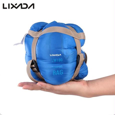 寝袋 シュラフ 封筒型 超軽量 圧縮 コンパクト アウトドア 登山 キャンプ 車中泊 防災 k00020