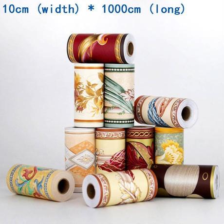 【ウォールステッカー】 壁紙 ウエストライン シール 10×1000cm ...