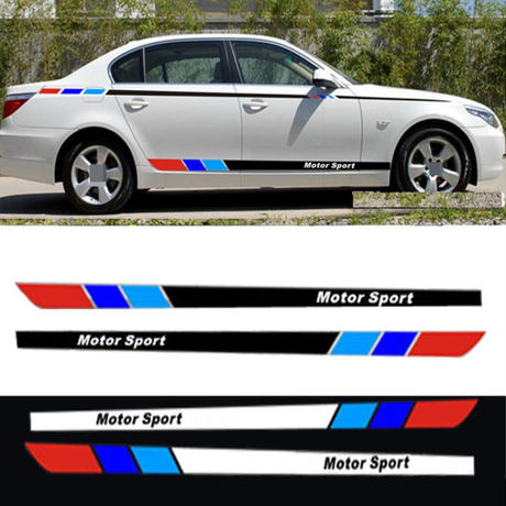 BMW ステッカー カーサイド E30 E34 E36 E39 E46 E53 E60 E70 E71 E85 E87 E90 E91 E92 E83 F83 F20 F21 F30 h00199