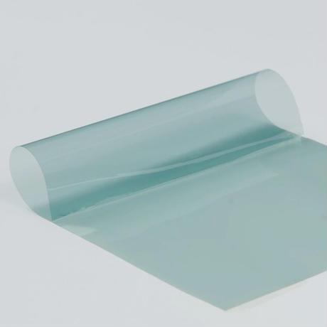 ウィンドウティントフィルム ライトブルー VLT 可視光透過率75% ナノセラミック  76×1000cm 車や家の窓ガラスに m03152