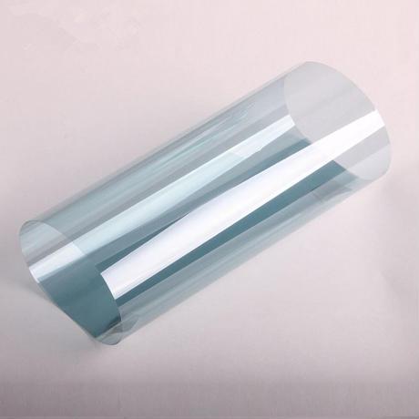 ウィンドウティントフィルム ライトブルー VLT 可視光透過率75% ナノセラミック 70×500cm 車や家の窓ガラスに m03150