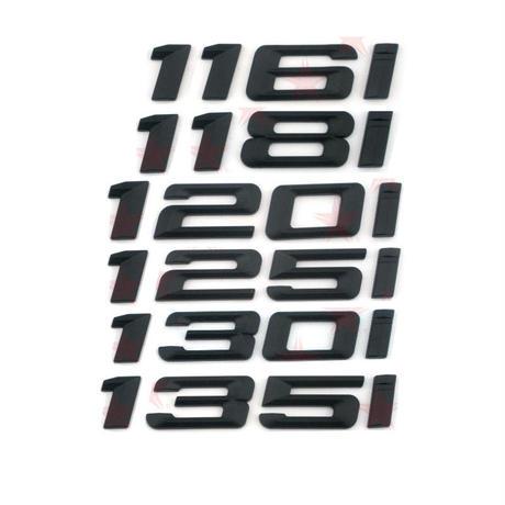 BMW エンブレム リア ステッカー ブラック 116i 118i 120i 125i 130i 135i h00270