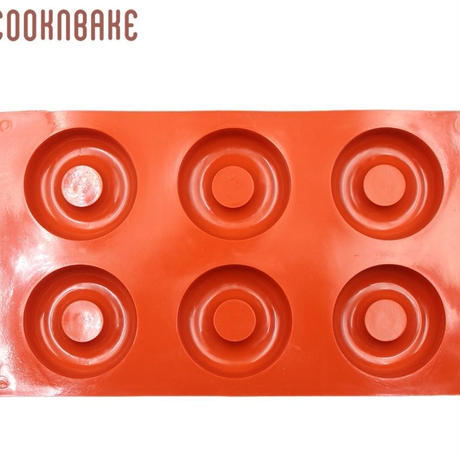 新品送料込  製菓型 3D 耐熱 シリコントレー キャビティ 手作りチョコ ケーキ ドーナッツ  輪っか型  誕生日会 バレンタイン  m01062