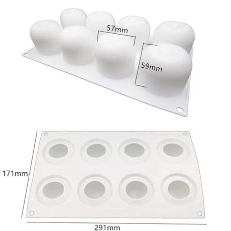 新品送料込  型 3D 耐熱 シリコントレー キャビティ 手作りチョコ ケーキ ムース  りんご型  パーティ 誕生日会 バレンタイン  m01070