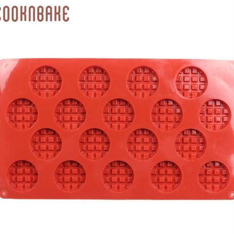 新品送料込  製菓型 3D 耐熱 シリコントレー キャビティ 手作りチョコ ケーキ クッキー  ワッフル型  誕生日会 バレンタイン  m01064