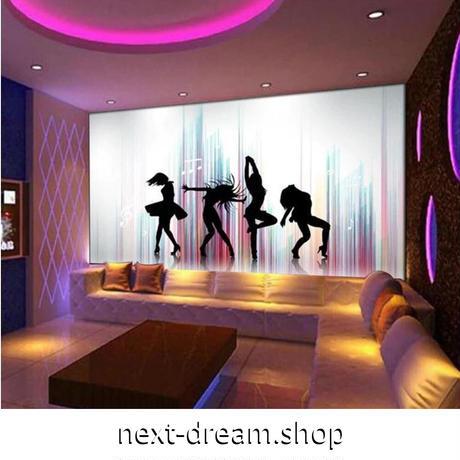 【カスタム3D壁紙】 1ピース 1m2 ダンス ショー ステージ クラブ 女性 キャンバス地 クロス張替 部屋 m05326