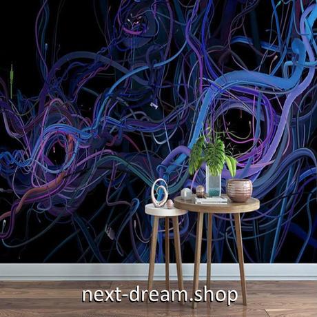 3D 壁紙 1ピース 1㎡ 芸術 アート コード DIY リフォーム インテリア 部屋 寝室 防湿 防音 h03234