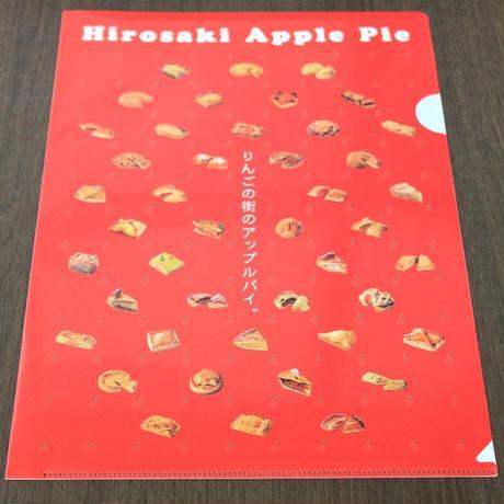 【弘前アップルパイシリーズ】クリアファイル~Hirosaki Apple Pie~