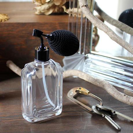フランス製ボトル ガラスアトマイザー 369873 CLBK(ブラック)【メンズ 香水 フレグランス アロマ ヴィンテージ インテリア】