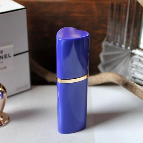 ハート型BIGサイズ 携帯用アトマイザー 7ml(ブルー)【香水 フレグランス アロマ 詰替え容器 プレゼント】★ラッピング無料★