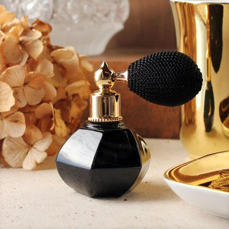 バルブアトマイザー 蕾(TUBOMI) 15ml 28239 BKBK(ブラック/ブラック)【香水 フレグランス アロマ ヴィンテージ プレゼント】