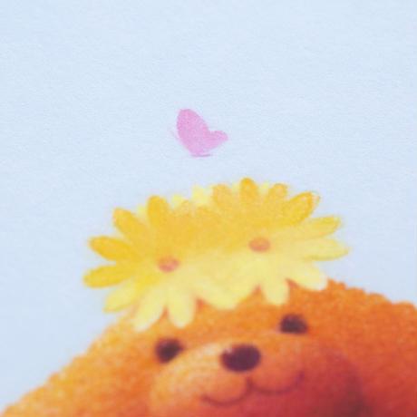 ジクレー版画「桜色の休日」(フレーム無し・ブックマット仕様)