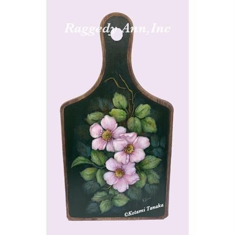 花のカッティングボード B