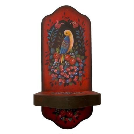 電子パケット ジョイスハワードのスタイルで描く;キャンドルスタンド 鳥;