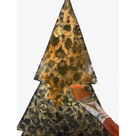 プリントアウト式パターンパケットと素材のセット ;アルハンゲリスク・スタイルのクリスマスボード;