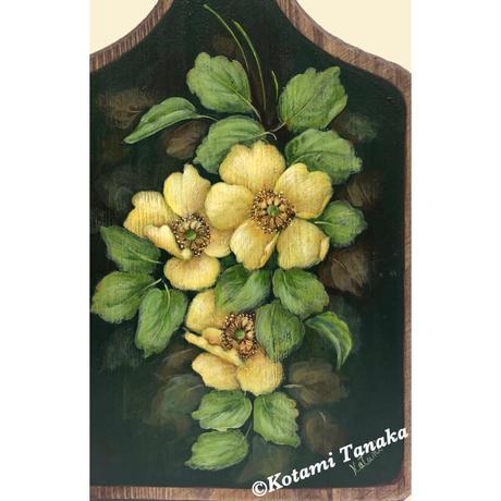 花のカッティングボード A
