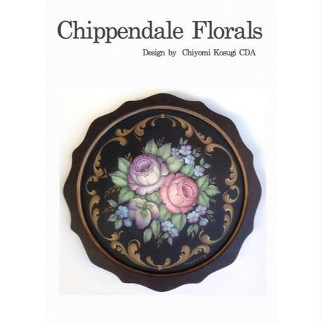 プリントアウト式パケットと素材のセット;Chippendale Florals;