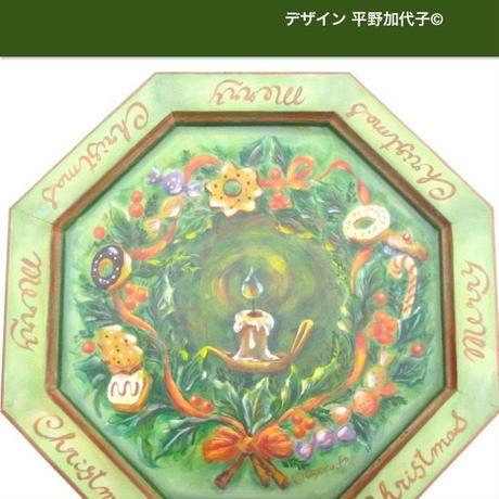 プリントアウト式パケット平野加代子©;お菓子な Merry Christmas!! ;
