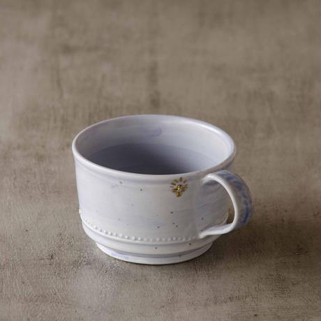 クロス付きソーダ-釉マグカップ