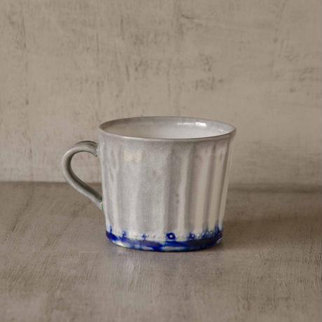 クロス付きソーダ-釉のマグカップ1