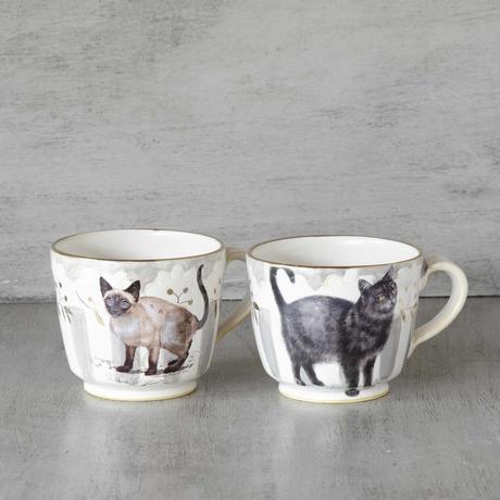 シャム猫のマグカップ