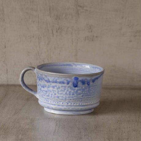 クロス付きソーダ-釉のマグカップ3