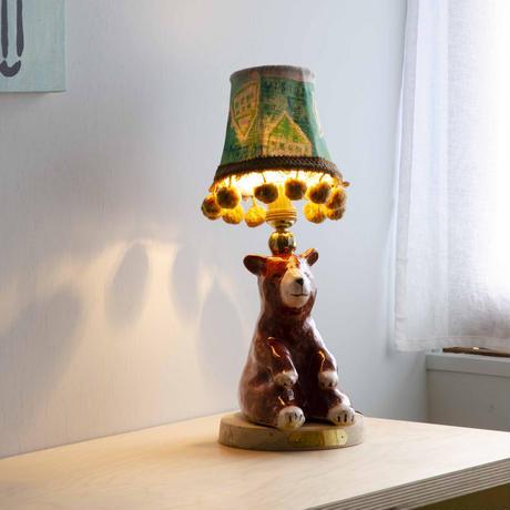 クマのテーブルランプ