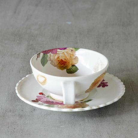 スプーン猫のカップ&ソーサー