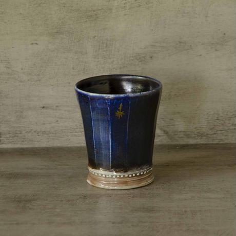 ソーダ釉薬のフリーカップ