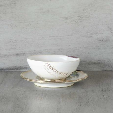キノコのカップ&ソーサー
