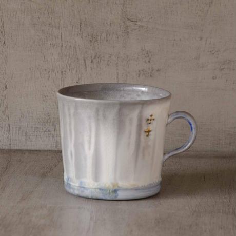 クロス付きソーダ-釉のマグカップ7