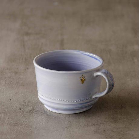クロス付きソーダ-釉のマグカップ2