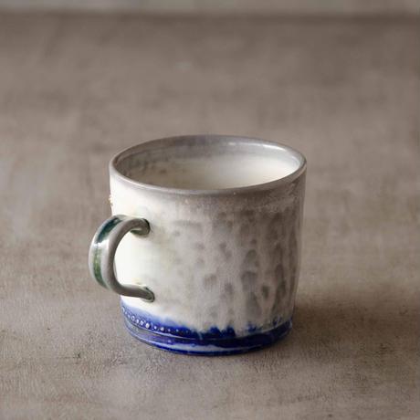 クロス付きソーダ-釉のマグカップ6