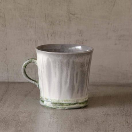 クロス付きソーダ-釉のマグカップ5