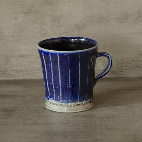 ソーダ釉のマグカップ