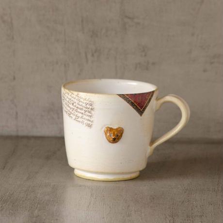 熊つきのマグカップ