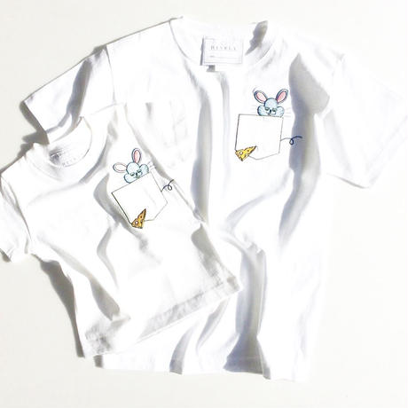MOUSE KIDS Tシャツ White