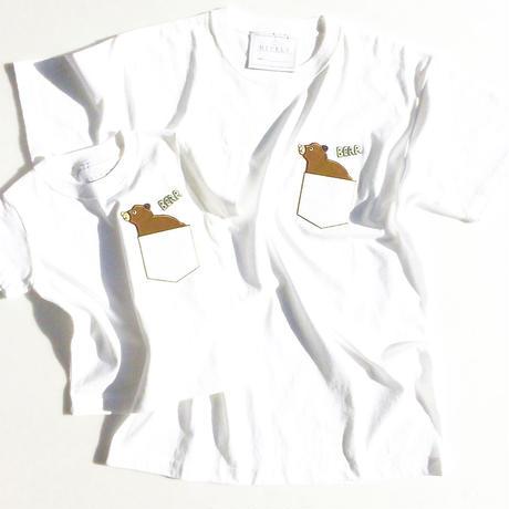 BEARLADYS/MENSTシャツ White