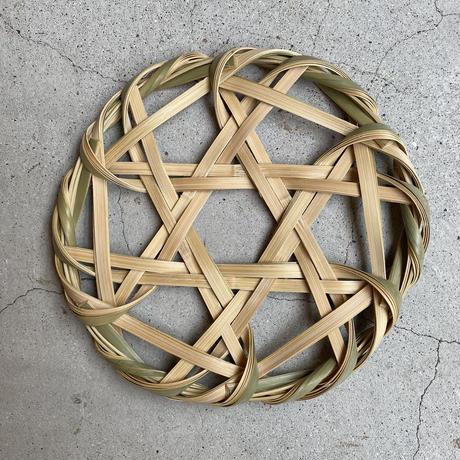 FACTORY JIN&POKO  青竹鍋敷き L