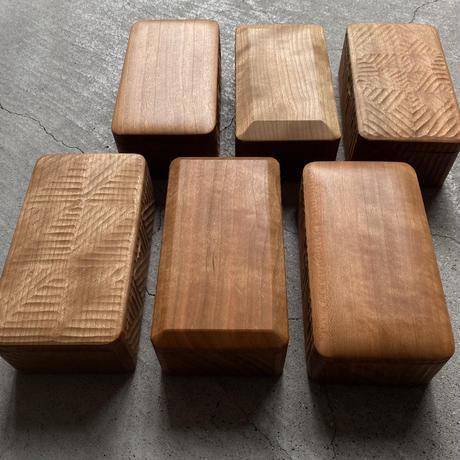 京都炭山朝倉木工 バターケース  蓋面取りタイプ