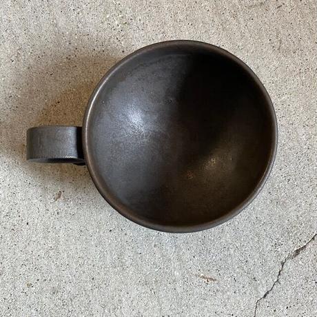 小谷康弘 黒彩 スープカップ