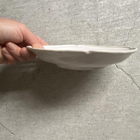 関口憲孝 ひし形小鉢 乳白