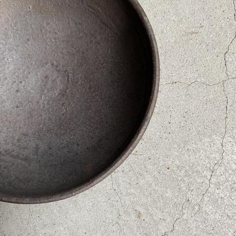 遠藤素子 ひとりおかず鉢 鉄釉