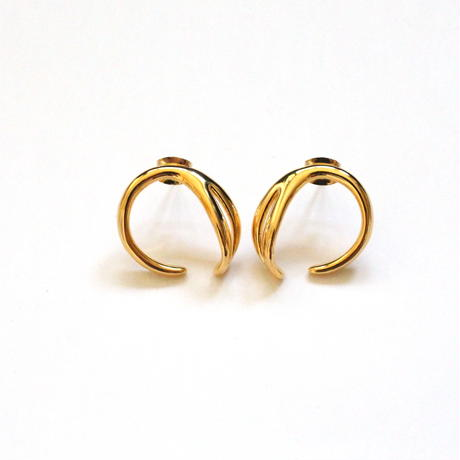 24KGP Mini Circle pierce