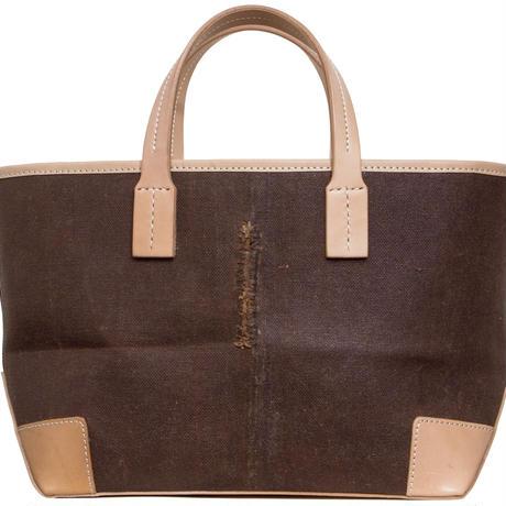 酒袋鞄 SHIB  S-59/赤白格子帯  / KIMONO OBI